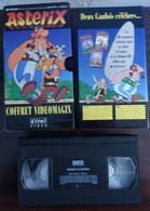 Coffret 3 Cassette Video ASTERIX Dessin Animé - Cartoons