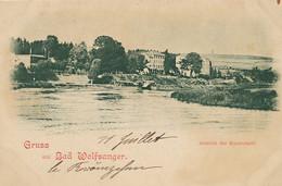 Gruss Aus Bad Wolfsanger Ansicht Der Kuranstalt Undivided Back - Kassel