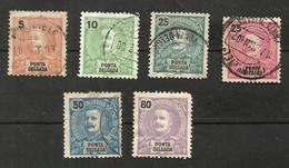 Portugal Ponta Delgada N°14, 15, 19, 20, 22, 26 Cote 16.90 Euros - Ponta Delgada