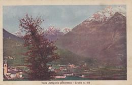 CRODO-VERBANO CUSIO OSSOLAS-VALLE ANTIGORIO PITTORESCA-CARTOLINA NON VIAGGIATA IL 26-10-1936 - Verbania