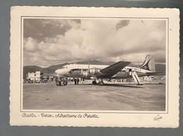 CP - Av. - Douglas DC4 - Air France - F-BELJ - Bastia - Aérodrome De Poretta - 1946-....: Modern Tijdperk