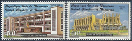 Cameroon 1982, Famous Hotels In Cameroon, MNH Stamps Set - Kamerun (1960-...)