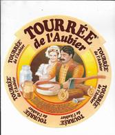 ETIQUETTE DE FROMAGE  NEUVE  TOURREE DE L'AUBIER - Cheese