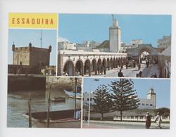 Maroc - Essaouira -  Médina, Avenue Mohamed V, Skala Du Port(cp Vierge Multivues) - Andere