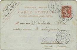 1913 / Carte Commerciale Paul WIDMER Architecte / 88 Remiremont / Bois Pour Hôtel Milton ( Café Gare) Demangevelle 70 - Autres