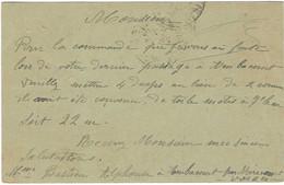 1925 Carte Commerciale Mme BASTIEN Alphonse / Ambacourt Par Mirecourt / 88 Vosges / Pour Ullmann Martigny - Autres