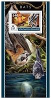 SOLOMON ISLANDS 2015 SHEET CHAUVES SOURIS BATS MURCIELAGOS PIPISTRELLI MORCEGOS WILDLIFE Slm15218b - Islas Salomón (1978-...)