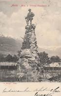 AOSTA - MON. A VITTORIO EMANUELE II - Aosta
