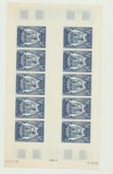 Feuillets De 10 Timbres Neufs Xx  N° 21   Cote 225 Euros - Französische Süd- Und Antarktisgebiete (TAAF)