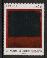 France - 2016 - N°Yv. 5030 - Tableau / Rothko - Neuf Luxe ** / MNH / Postfrisch - Frankreich