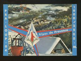 Pra-Loup (04) : La Station D'Honoré Bonnet - France
