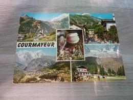 COURMAYEUR - MULTI-VUES - ANNEE 1972 - EDITIONS DEL RICORDO - - Aosta