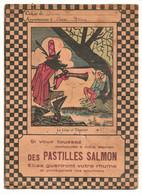 Protège-cahier - Publicité Pastilles Salmon - Et Fable Le Loup Et L'Agneau - Produits Pharmaceutiques