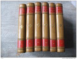 Oeuvres Choisies De Diderot Introduction De Albert Relié 1877 Numéroté 6 Volumes Contes Correspondance - Books, Magazines, Comics