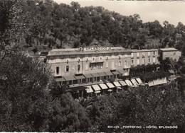 PORTOFINO-GENOVA-HOTEL=SPLENDID=-CARTOLINA VERA FOTOGRAFIA-VIAGGIATA IL9-4-1953 - Genova