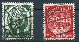Deutsches Reich -  Mi. 544/545 (o) - Usados