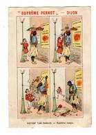 Chromo Imp. Courbe Rouzet, 3-4-57 / 14, Histoire Sans Paroles, équilibre Rompu, Noir, Pernot - Pernot