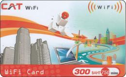 Thailand Phonecard Internet CAT Bridge City - Tailandia