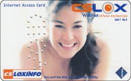 Thailand Phonecard Internet Loxinfo Nice Lady VOID - Tailandia