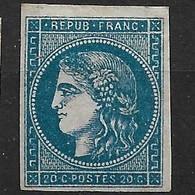 France 45Ca* Bleu Foncé Cote 2150€ - 1870 Emission De Bordeaux