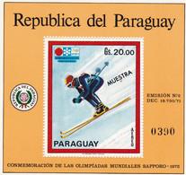 Paraguay Hb Michel 171 MUESTRA - Paraguay