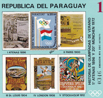 Paraguay Hb Michel 183 MUESTRA - Paraguay