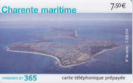 TARJETA DE FRANCIA DE 365 UNIVERSEL DE 7,50€ - PLAYA - CHARENTE MARITIME - Frankreich