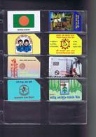 Télécartes Carte Telephonique Phonecard Bangladesh 7 Cartes - Bangladesh
