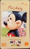 Mobilecard Thailand - Orange - Disney - Mickey (10) - Tailandia