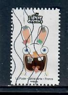 YT AA 5020-58 De La Série Lapins Cretins Ce Timbre - Oblitérés