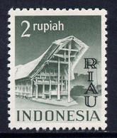 Indonesia - Riau-Lingga 1954 Opt On 2r Grey-green Unmounted Mint SG 18 - Indonesien