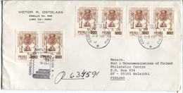 Peru Zusammenstellung Der Gesetze Der Königreiche Indiens 1681 Überdruckmarke 6x - Peru