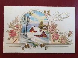 Feldpostkarte Zum Bonne Annee 1941 Von Dienststelle L04813 Lg. P. A. Paris Nach Weixdorf B. Dresden - Militaria