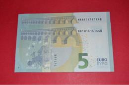 2 X 5 EURO N AUSTRIA AUTRICHE ÖSTERREICH - N014 J1 - N014 D6 - NICE PAIR - UNC - NEUF - NEW Bankfrisch - EURO