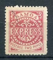 Samoa Nr.I  ND?          (*)  No Gum        (001) - Samoa