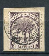 Samoa Nr.8  Briefstück          O  Used        (002) - Samoa