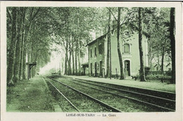 Lisle Sur Tarn : La Gare - Lisle Sur Tarn