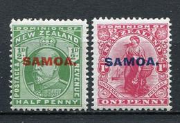 Samoa Nr.35 + 36          *  Unused        (009) - Samoa