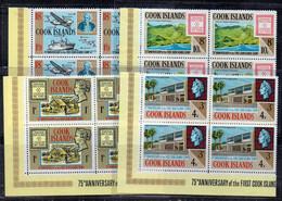QUS* - COOK ISLANDS : N. 156/159   In Quartina ***  MNH - Cook