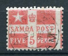 Samoa Nr.18          O  Used        (007) - Samoa
