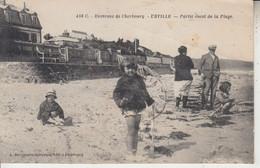 Environs De Cherbourg - URVILLE - Partie Ouest De La Plage  PRIX FIXE - Altri Comuni