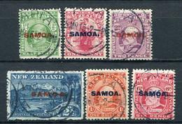 Samoa Nr.35/40          O  Used        (008) - Samoa