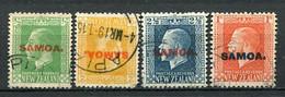 Samoa Nr.41, 45 + 49          O  Used        (011) - Samoa