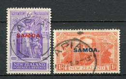 Samoa Nr.54 + 55          O  Used        (012) - Samoa