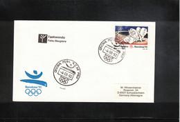 Spain 1992 Olympic Games Barcelona Taekwondo Interesting Letter - Summer 1992: Barcelona