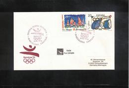 Spain 1992 Olympic Games Barcelona Sailing Interesting Letter - Summer 1992: Barcelona