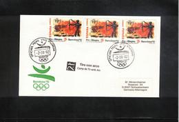 Spain 1992 Olympic Games Barcelona Archery Interesting Letter - Summer 1992: Barcelona