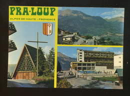 Pra-Loup (04) : Station De La Haute Vallée De L'Ubaye - France