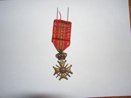 MEDAILLE Croix De Guerre 1914 1918 Medals 14 18 Medal War Militaria Belgique Belgium België WW I - Non Classificati