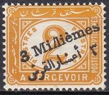 EG865 – EGYPTE – EGYPT – POSTAGE DUE - 1904 – OVERPRINT VARIETY – BAL # 106b MNH - 1866-1914 Khedivaat Egypte